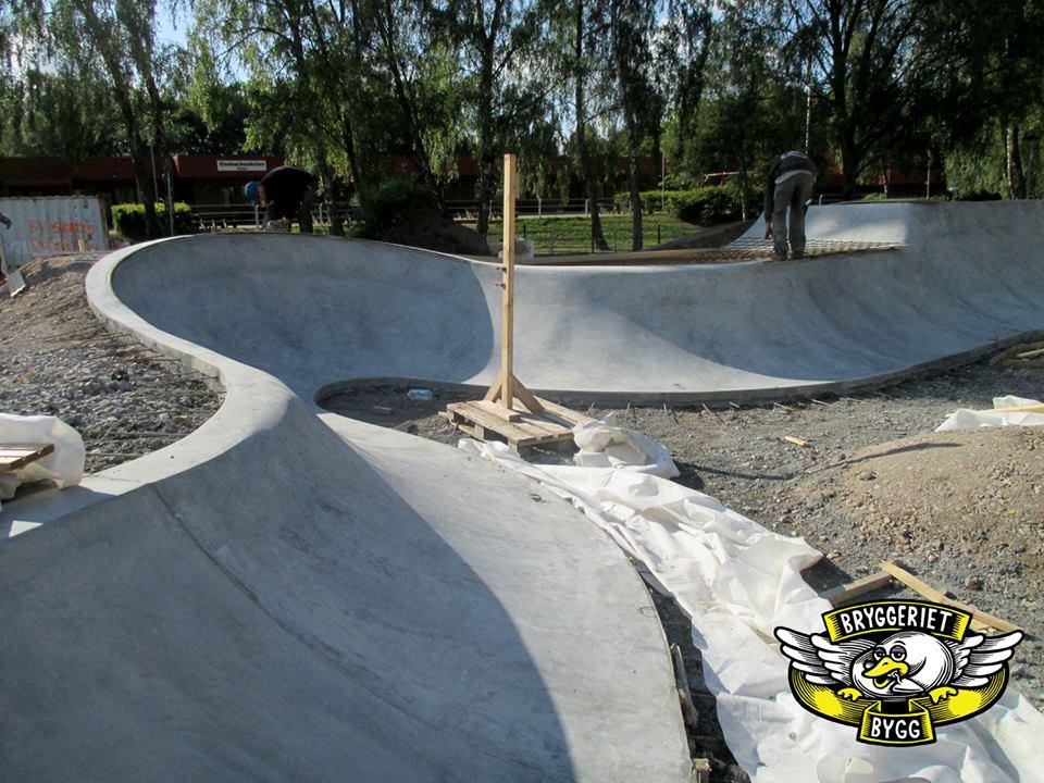 Höör Skatepark. 2014