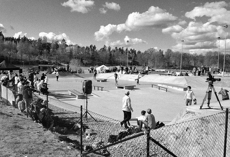 Trollhättan Skatepark, 2012.