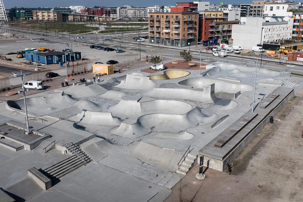 Stapelbäddsparken 2014. © EKEN