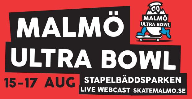 Malmö Ultra Bowl: 15 – 17 augusti 2014