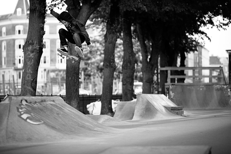 Frontside flip / Köpenhamn / Foto Nils Svensson