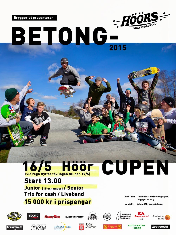 Betongcupen2015_Höör-poster