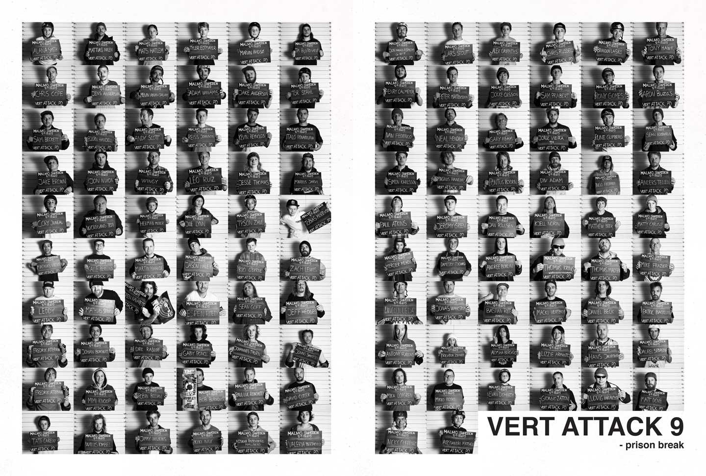 Vert Attack mugshots / Foto Sonia Ziegler