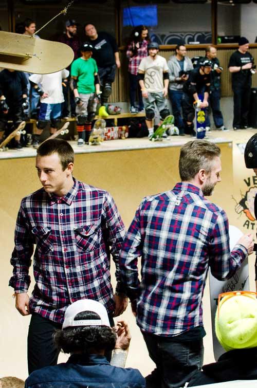 Chris Russel & Fredrik Nilsson / Foto EKEN