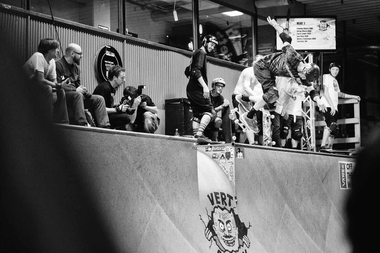 Tony Hawk / alley oop bs lipslide / Foto Nils Svensson