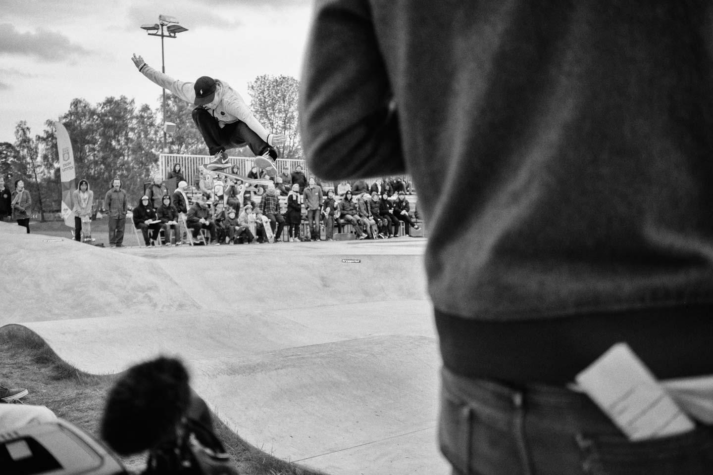 Oskar Rozenberg Hallberg / Kickflip / Foto Nils Svensson