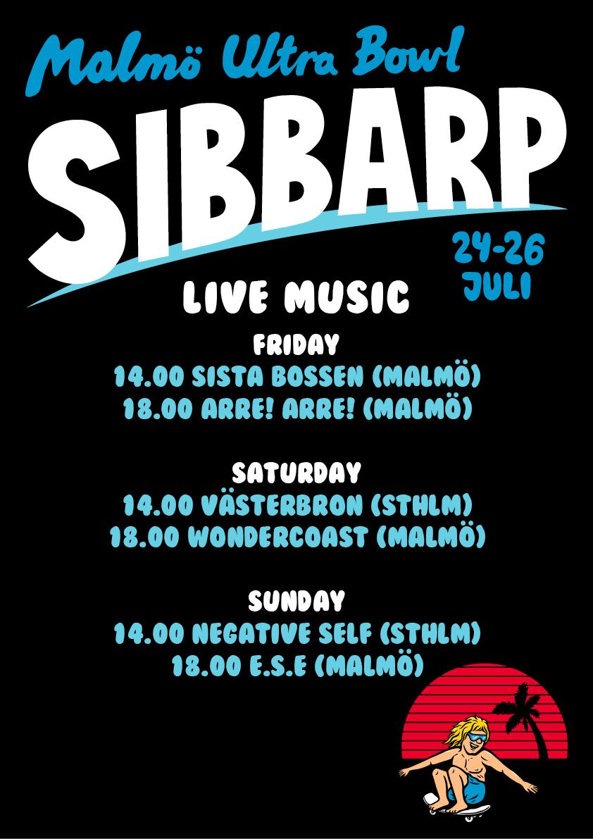 UB_Sibbarp_Live Music flyer