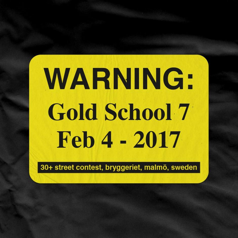 gold-school-warning