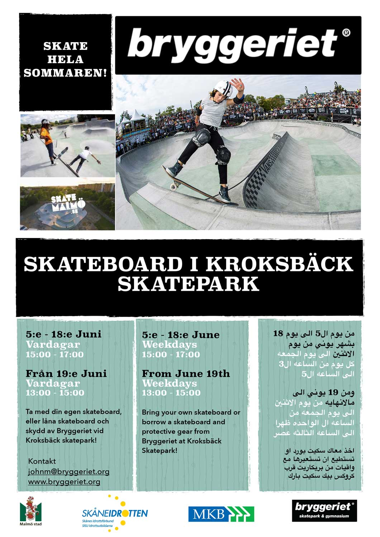 Skate-i-Kroksbäck